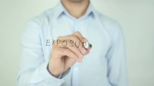 Exposure, Writing On Screen