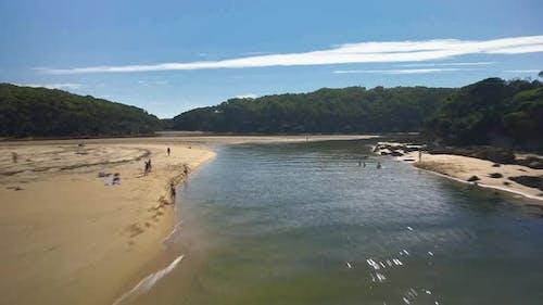 Nelson Beach Inlet Flyover