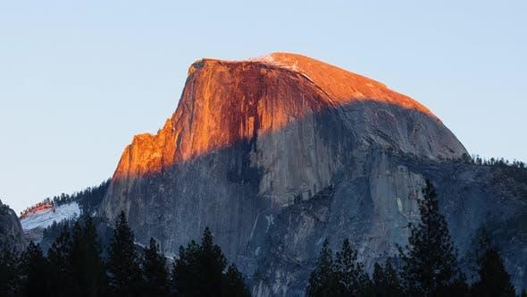 Thumbnail for Yosemite Half Dome Sunset Time Lapse