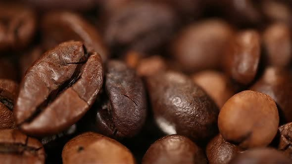 Thumbnail for Aromatic Roasted Coffee Beans Lying on Sack, Energy Boosting Morning Drink