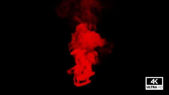 Red Smoke Trails