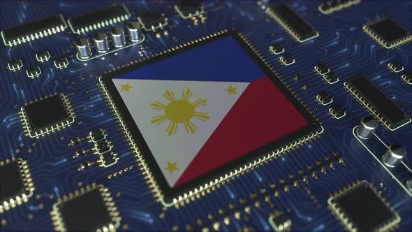 Thumbnail for Flag of Philippines on the Chipset