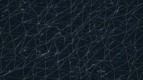 Plexus abstract background of glowing lines