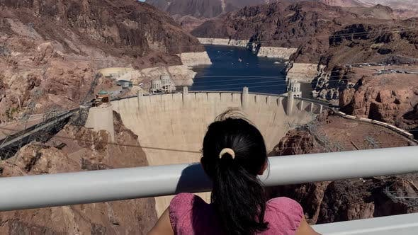 Thumbnail for The Hoover Dam on the border of Nevada and Arizona.