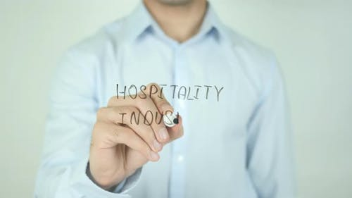 Hospitality Industry, Writing On Screen