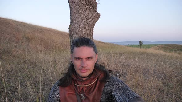 Thumbnail for A Viking warrior