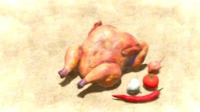 Chicken Stop Motion