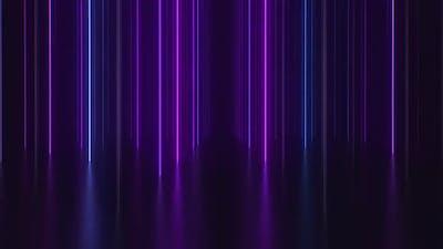 Neon Columns Background