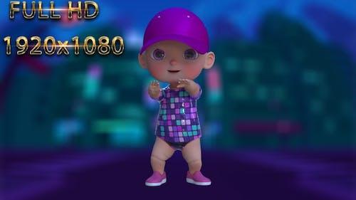 Cartoon Baby Dance V24 - 60 Fps