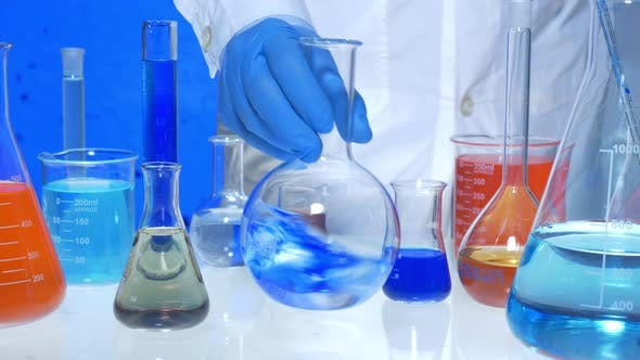 Thumbnail for Chemical Liquid Test In Lab