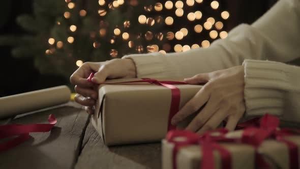 Thumbnail for Wrap Weihnachtsgeschenk Box