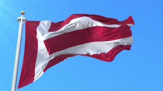 Eindhoven Flag, North Brabant, Netherlands