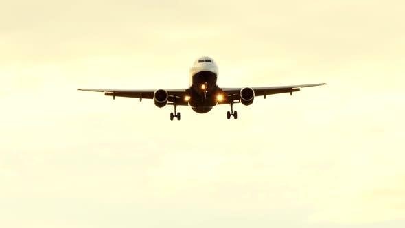 Thumbnail for Passenger Aircraft Airplane Landing at Airport