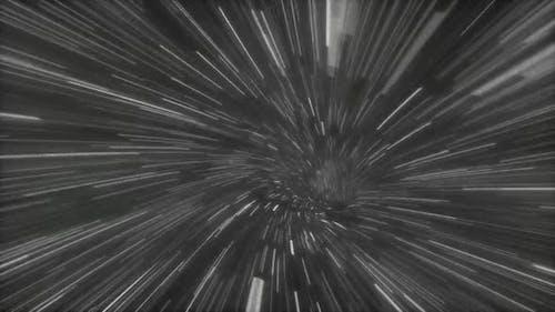 Space Travel Fly Through Galaxy Light Speed 02