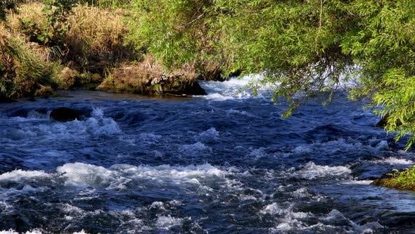 Waterfall In Wild Nature 80