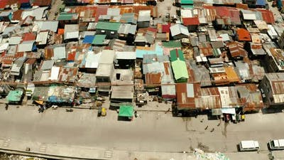 Slums and Poor District of the City of Manila
