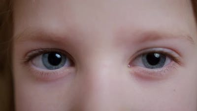 Child's Eye Close Up