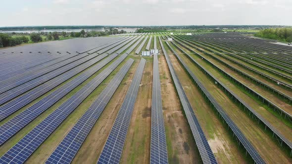 Thumbnail for Aerial View of Solar Power Station