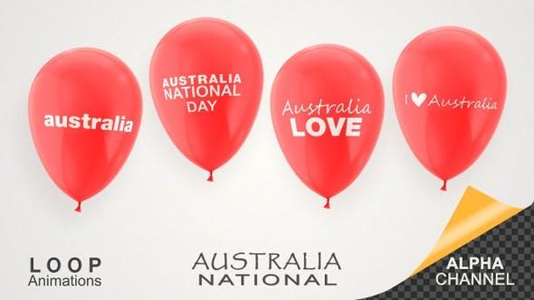 Thumbnail for Australia National Day Celebration Balloons