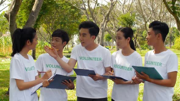 Thumbnail for Asian Volunteers Outdoors