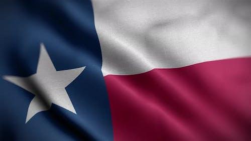 Texas State Flag Angle