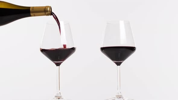 Cover Image for Glasses of Red Wine