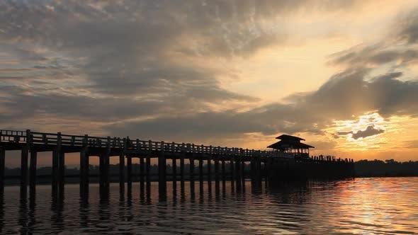 Thumbnail for U Bein bridge