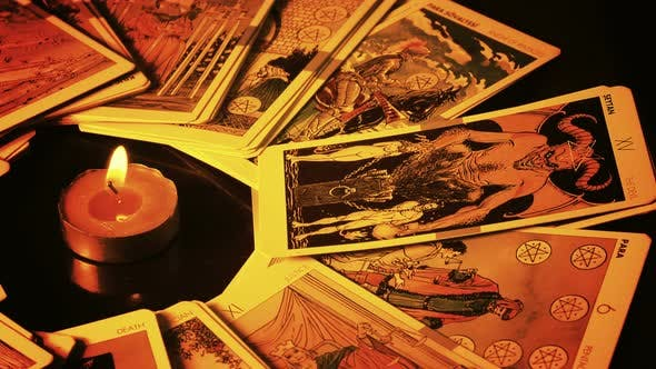 Cover Image for Magical Witchcraft Fortune Teller Mystical Tarot Cards