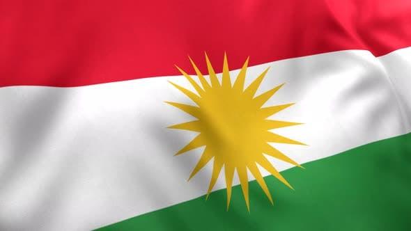 Kurdistan Flag - 4K