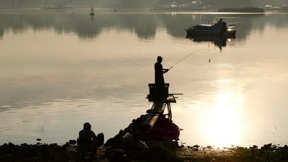 Thumbnail for Fishing in Golden Gorning