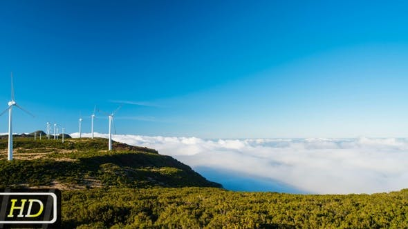 Thumbnail for Wind Farms Above the Clouds on Madeira