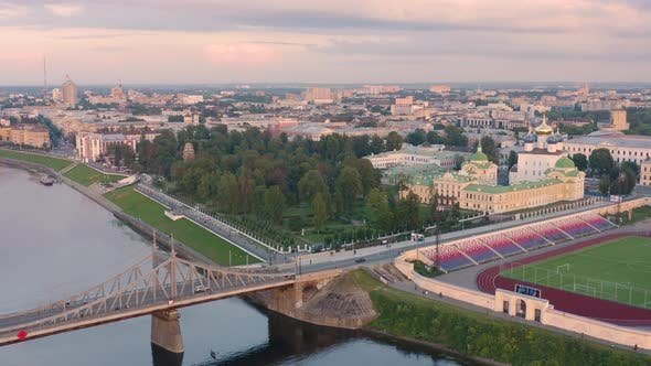 Aerial View of Tver
