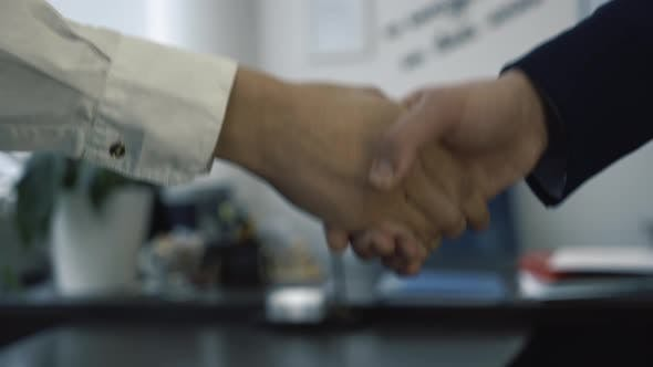 Thumbnail for Close Up Of Businesspeople Making Handshake