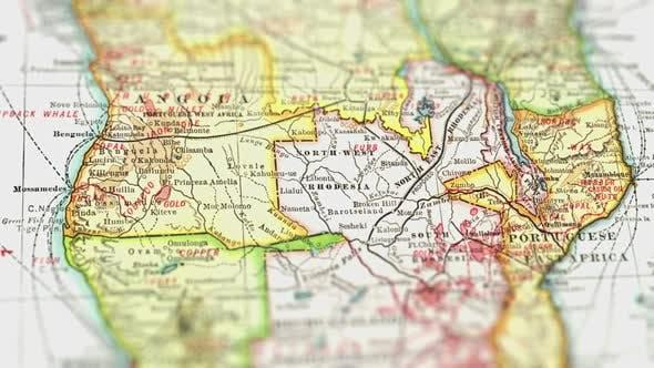 Thumbnail for Africa On Paper Map, Slider Shot