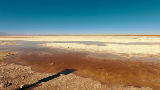Thumbnail for Shot of the Remote Extensive Expanse of Salt in the South America