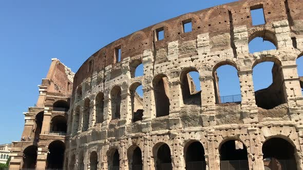 Thumbnail for Close Up View of Famous Colosseum in Italy