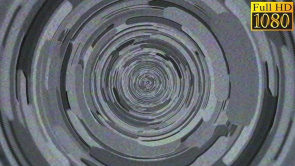 Thumbnail for Circles And Lines Noise Retro Video Loops Pack V1
