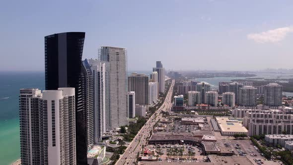 4k Miami Sunny Isles Beach Fl Highrise Architecture 60fps