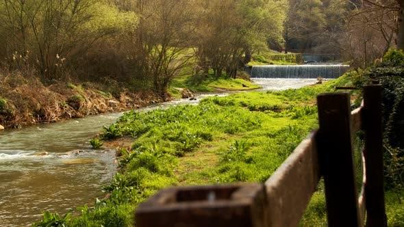 Natural Waterfall And River 1