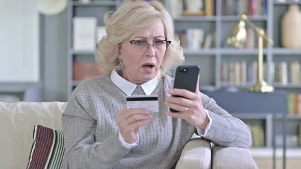 Thumbnail for Online Payment Failure on Smartphone for Old Woman