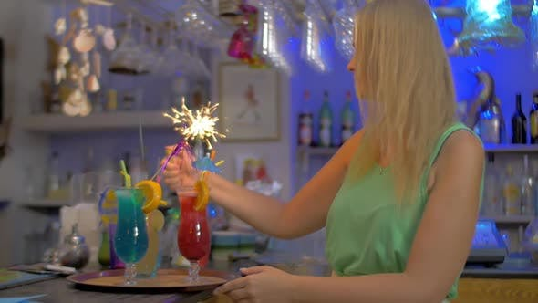 Thumbnail for Cocktail Party with Sparklers