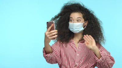 Covid19 Quarantine and Lifestyle Concept