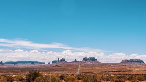 View Towards Monument Valley