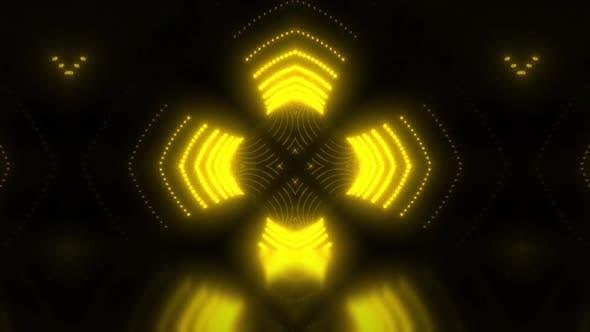 Scène jaune Vj boucle
