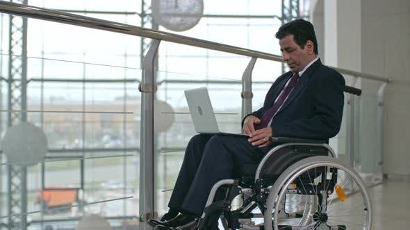 Thumbnail for Business Person In Wheelchair