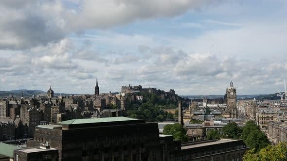 Thumbnail for Zeitraffer der Ansicht über Edinburgh