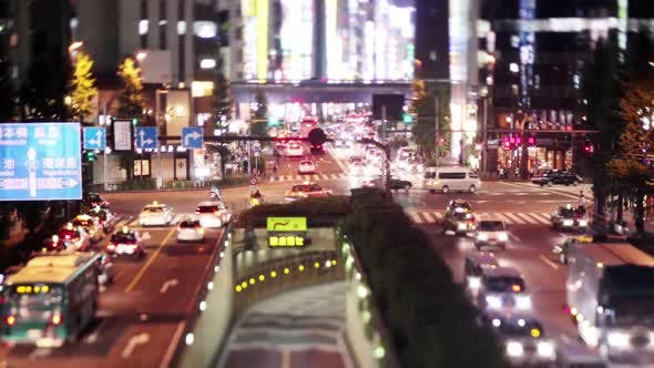 Thumbnail for Busy Tokyo Traffic Time Lapse