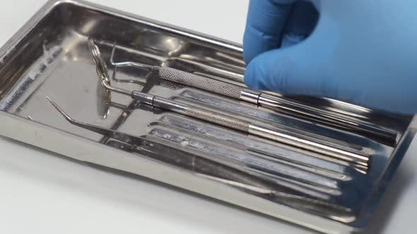 Thumbnail for Dental Tools Being Used at the Dentist