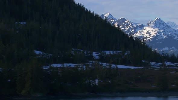 Thumbnail for Alaska mountains and lake