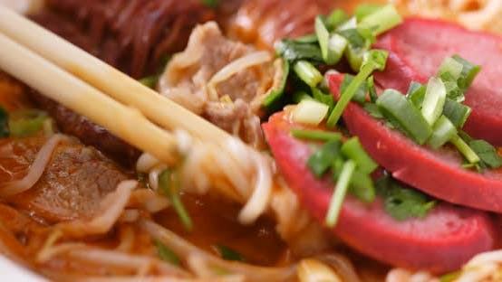 Thumbnail for Chinese Spicy Noodles